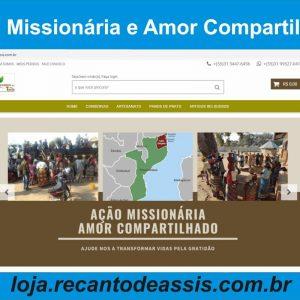 Ação Missionária e Amor Compartilhado