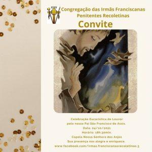 Celebração Eucarística de louvor a São Francisco de Assis